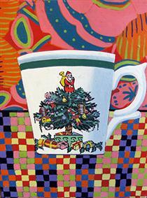 Christmas Cup - Joan Brown