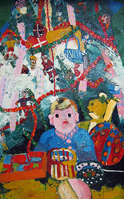 Noel's First Christmas, 1963 - Joan Brown