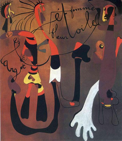Snail Woman Flower Star, 1934 - Joan Miró