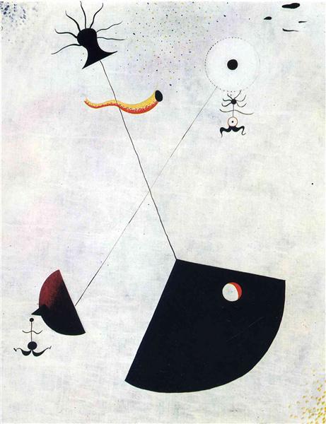 Maternity, 1924 - Joan Miro