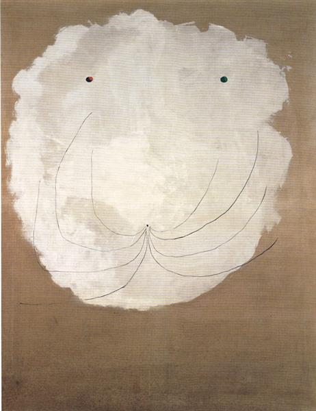 Painting (Head), 1927 - Joan Miro