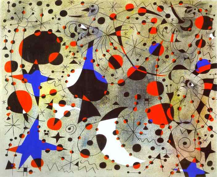 The Nightingale's Song at Midnight and the Morning Rain, 1940 - Joan Miro