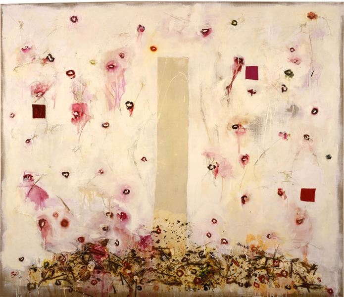 Cherry Fall, 1995 - Joan Snyder