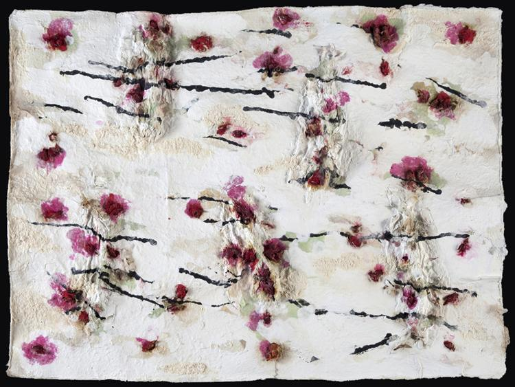 Rose Garden, 2010 - Joan Snyder