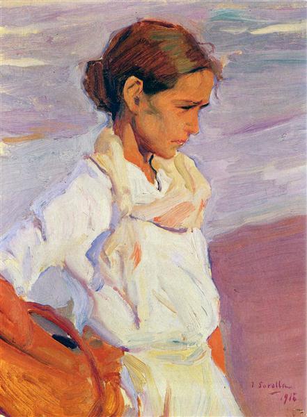 Fisherwoman from Valencia, 1916 - Joaquín Sorolla