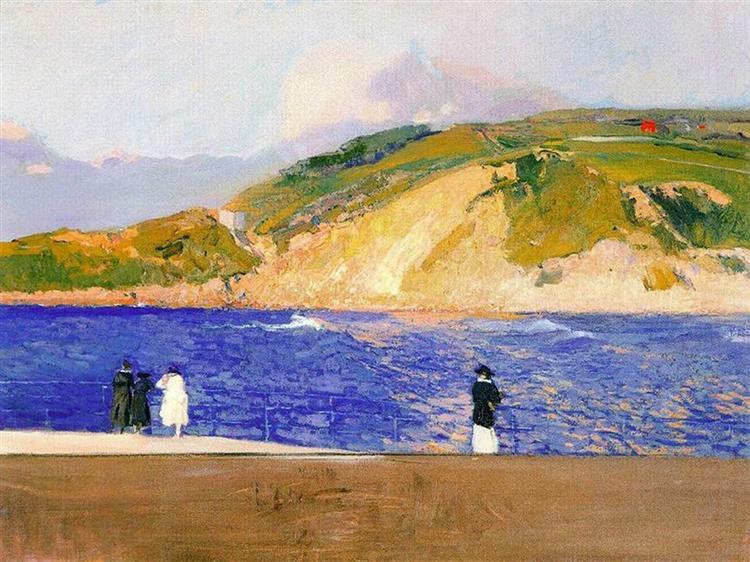 Monte Ullia, San Sebastian, 1909 - Хоакин Соролья