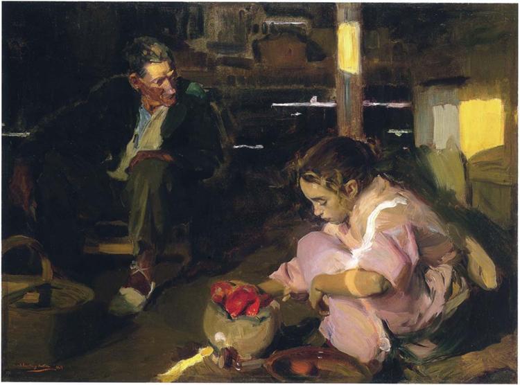 Peppers, 1903 - Joaquín Sorolla