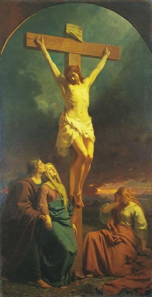 Christ of the Cross, 1859 - Johann Koler