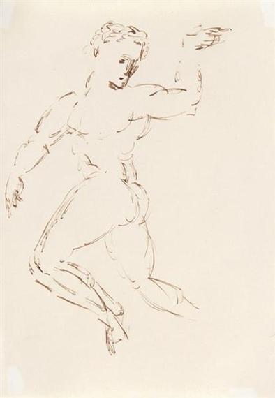 Bewegungsstudie II, 1935