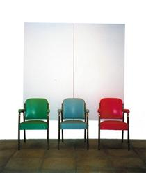 Furniture sculpture - John Armleder