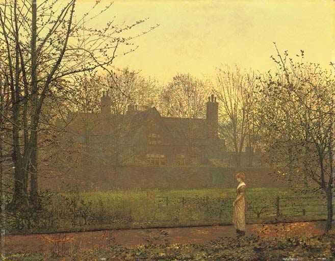 The Chill of Autumn, 1881 - John Atkinson Grimshaw