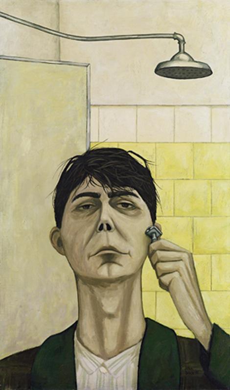 Self-portrait, 1955