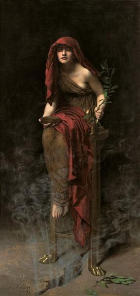 Priestess of Delphi, 1891 - John Collier
