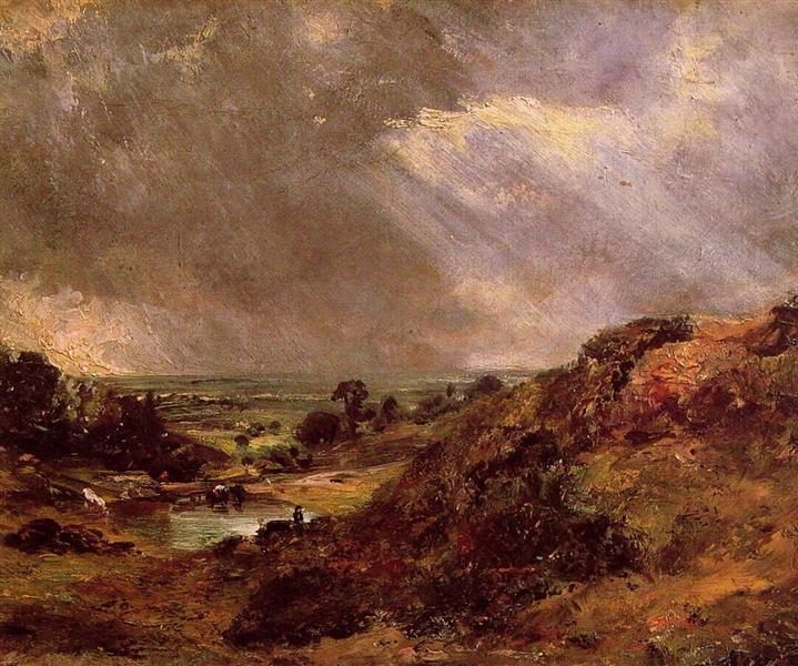 Branch Hill Pond Hampstead, 1819 - John Constable