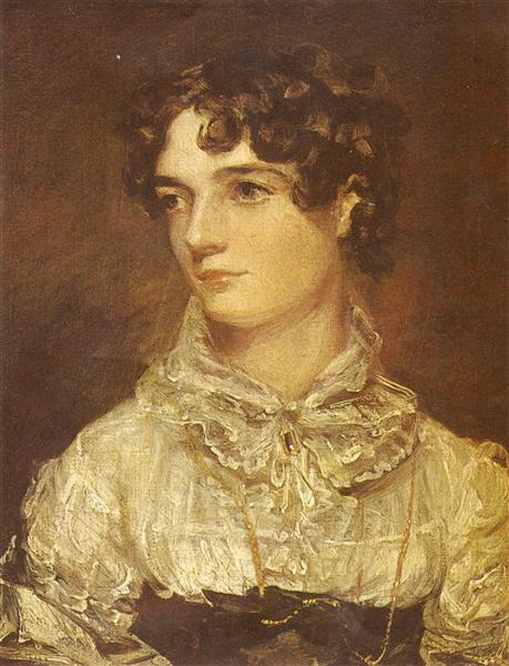 Portrait of Maria Bicknell - John Constable