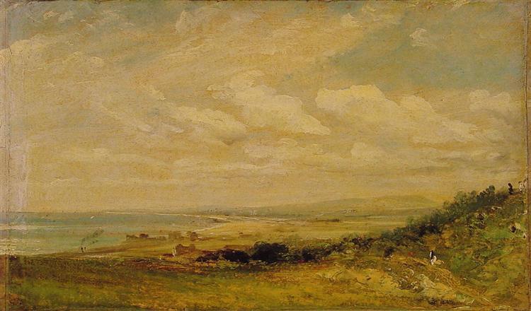 Shoreham Bay near Brighton, 1824 - John Constable