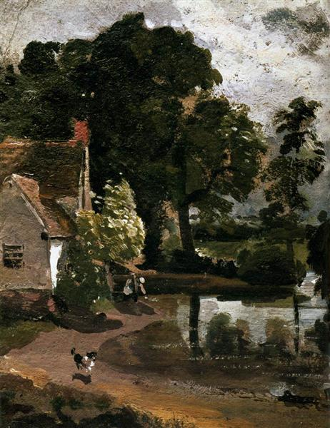 Willy Lot's House, 1810 - John Constable