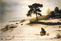 Blow, Blow Thou Winter Wind - John Everett Millais
