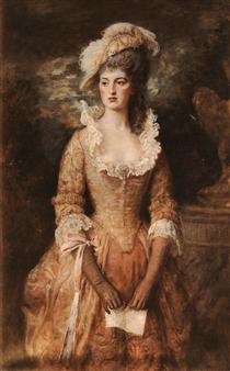 Clarissa - John Everett Millais