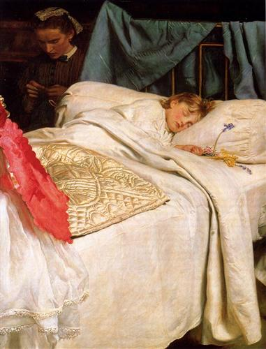 Sleeping - John Everett Millais