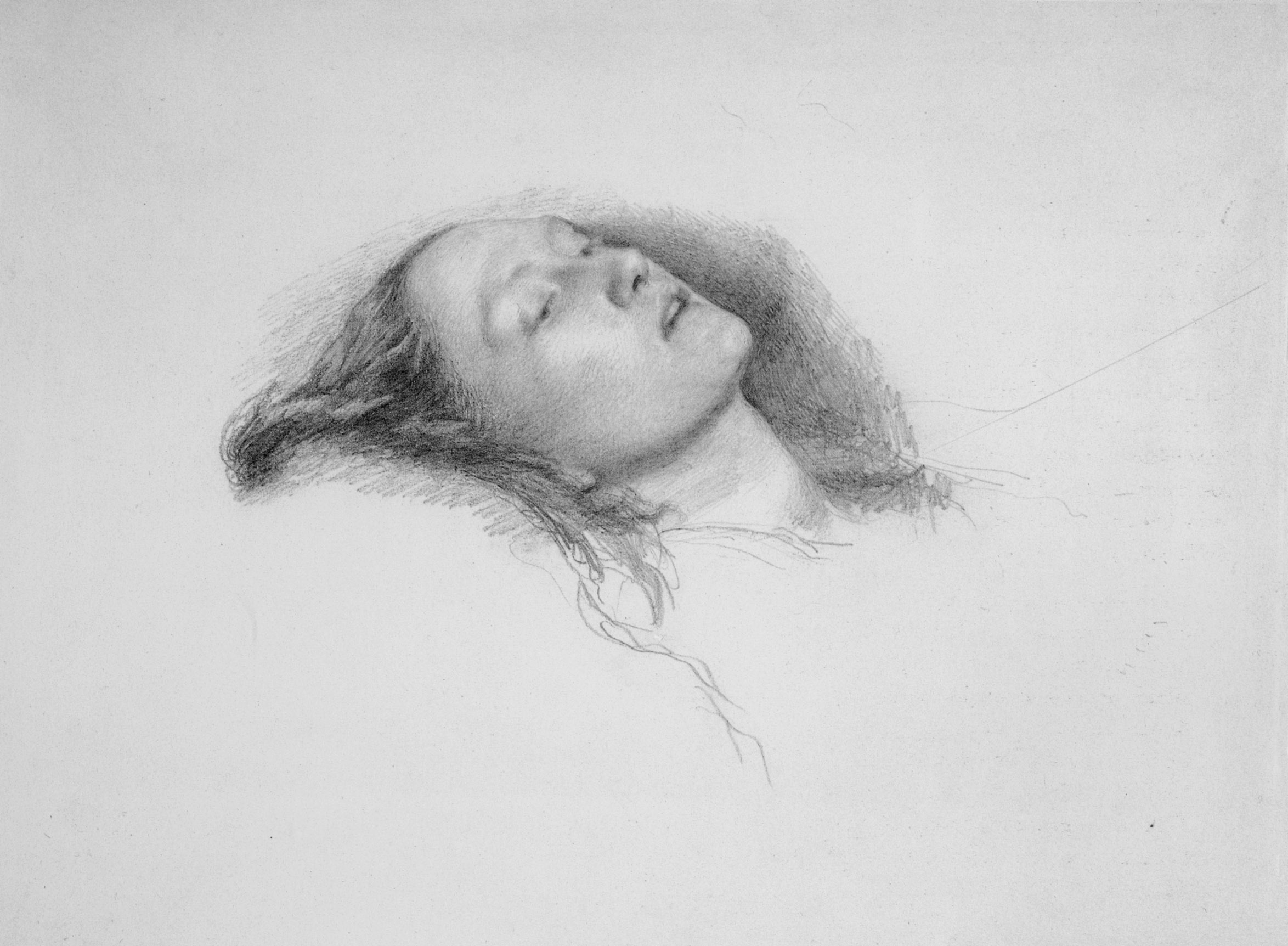 Study for Ophelia, 1852