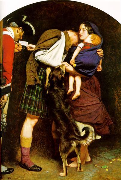 The Order of Release, 1852 - 1853 - John Everett Millais