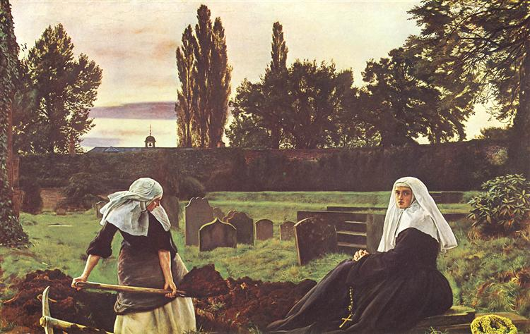 The Vale Of Rest, 1858 - 1859 - John Everett Millais