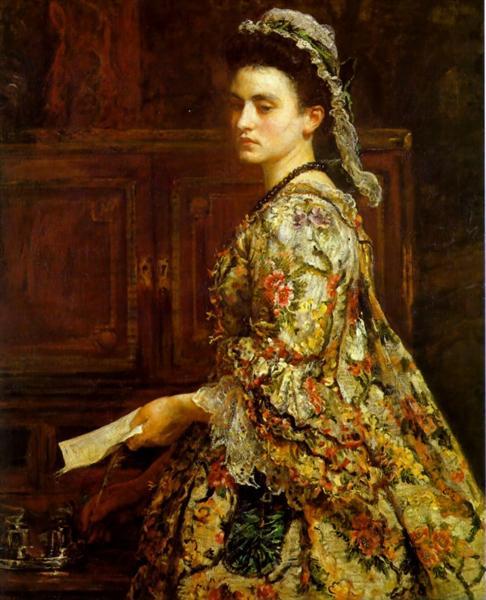 Vanessa, 1868 - Джон Эверетт Милле
