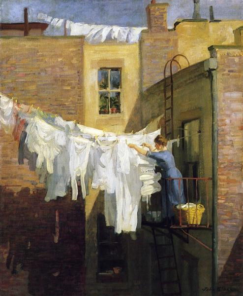 A Woman's Work, 1912 - John French Sloan