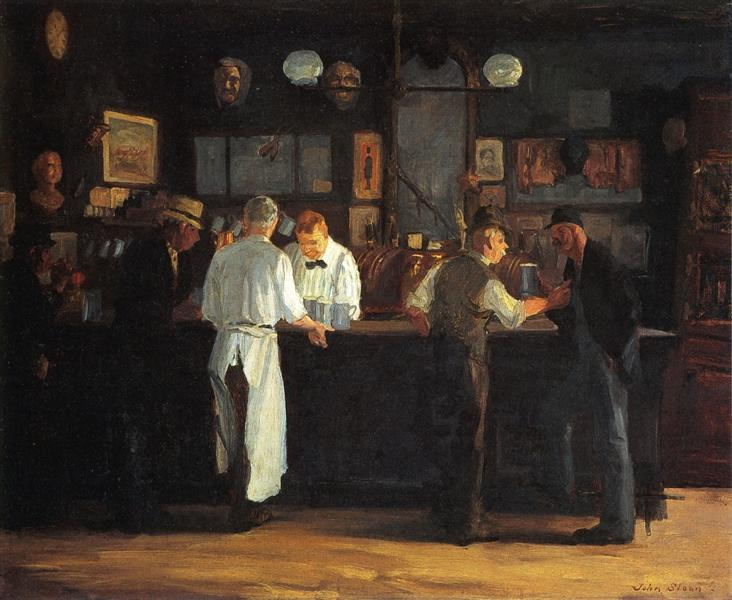 McSorley's Bar, 1912 - John French Sloan