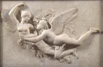 Cupid pursuing Psyche - Джон Гибсон