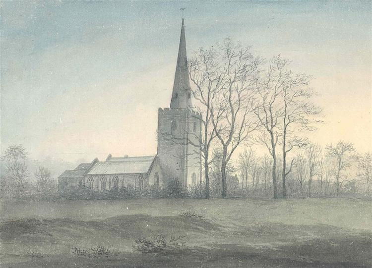 Appleby Magna Church, 1790 - John Glover