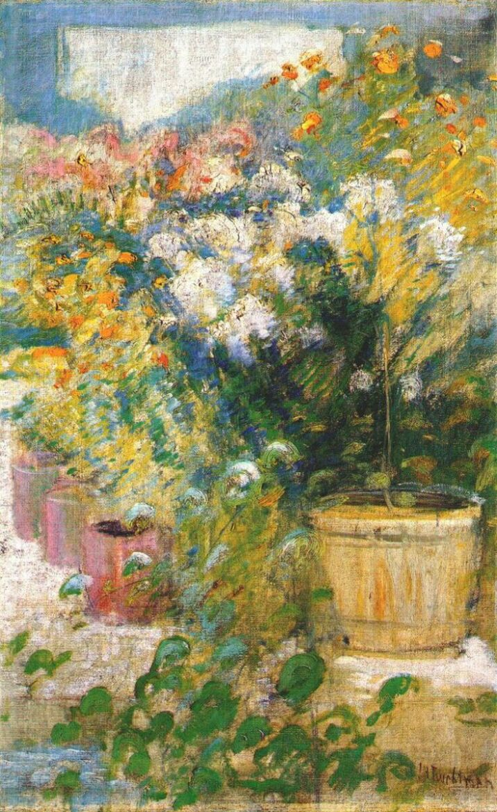 In the Greenhouse, 1890-1902