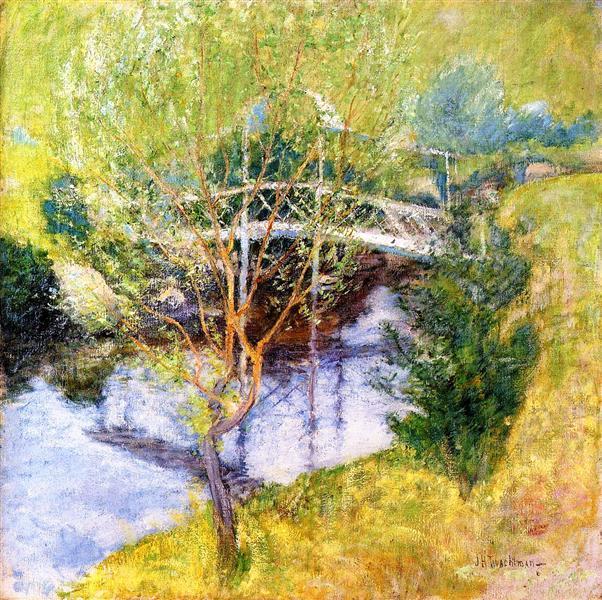 The White Bridge, c.1895 - c.1897 - John Henry Twachtman