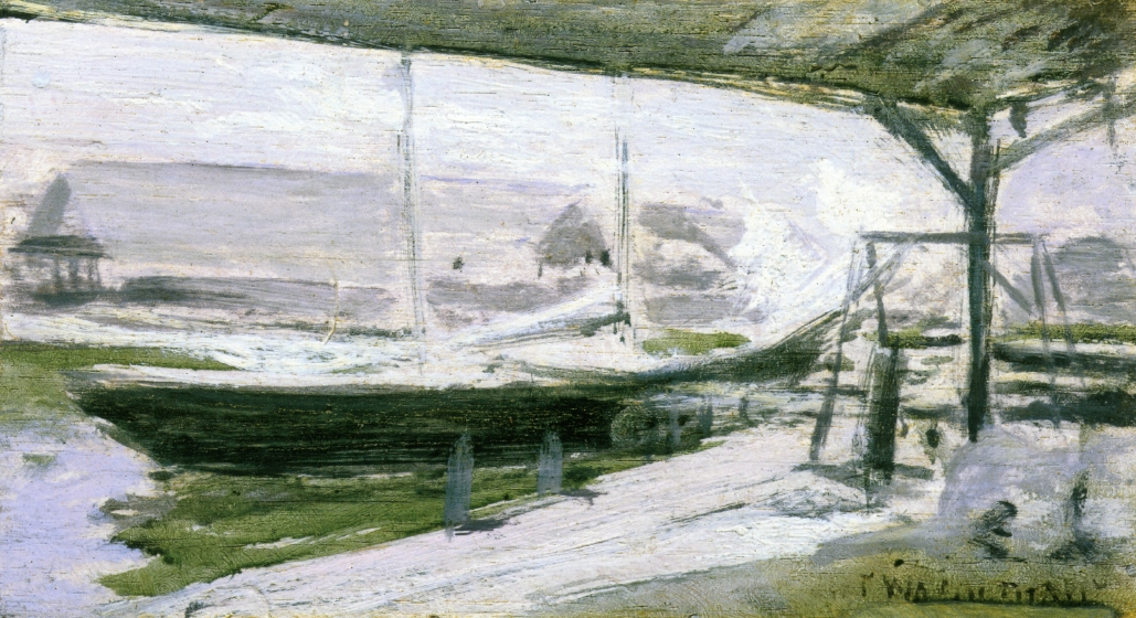 Under the Wharves, 1900