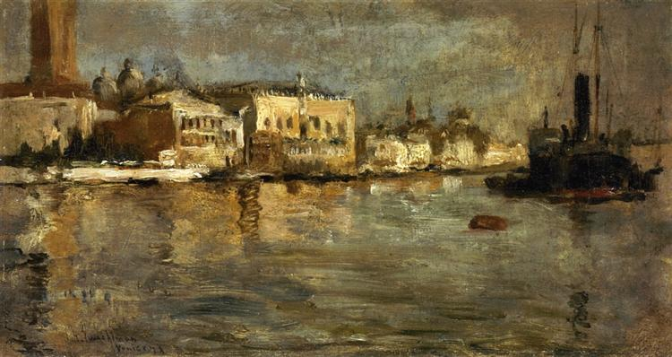View of Venice, 1878 - John Henry Twachtman