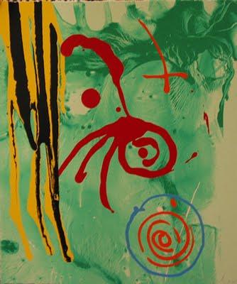 The Gnome, 2005 - John Hoyland