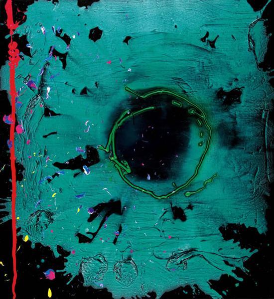 Eyes That Dream - 20.3.08 (Clifford Dies), 2008 - John Hoyland