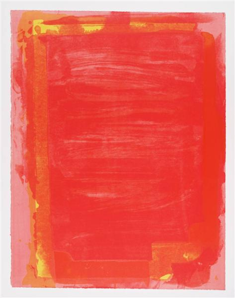 Untitled I, 1974 - John Hoyland