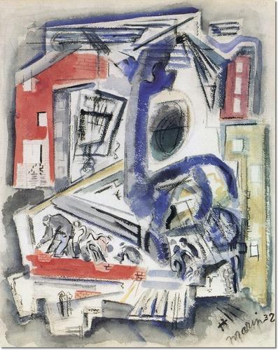 City Movement, 1940 - John Marin