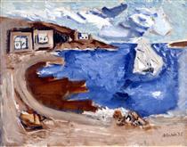 From Seeing Cape Split - John Marin