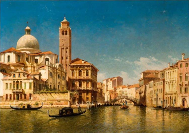 Venetian Scene - John O'Connor