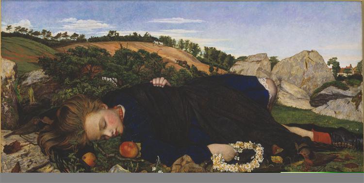Robin of Modern Times, 1860 - John Roddam Spencer Stanhope