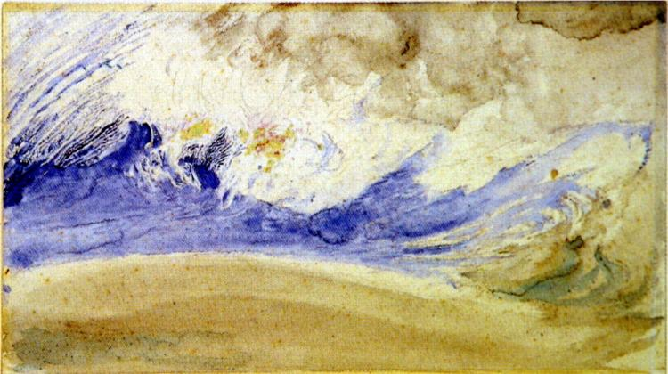 Cloud Study, 1880 - John Ruskin