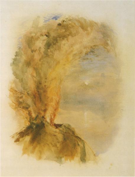 Vesuvius in Eruption, 1875 - John Ruskin