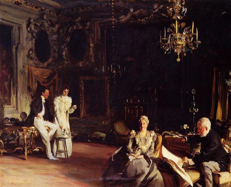An Interior in Venice, 1899 - John Singer Sargent