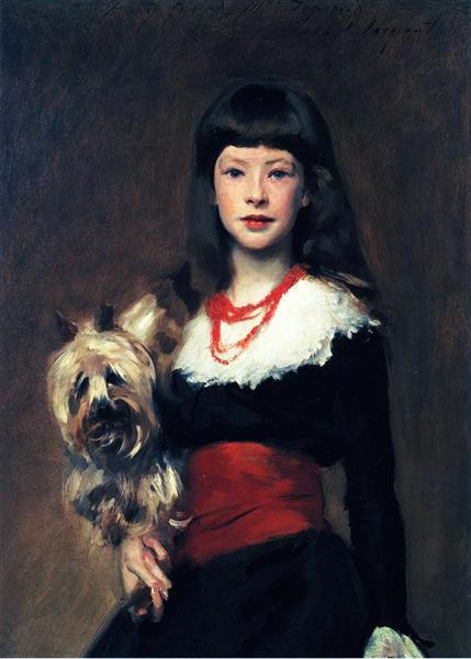 Beatrice Townsend, c.1882 - John Singer Sargent