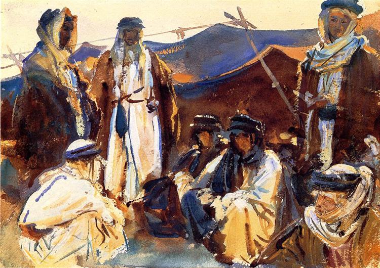 Bedouin Camp, 1905 - 1906 - John Singer Sargent