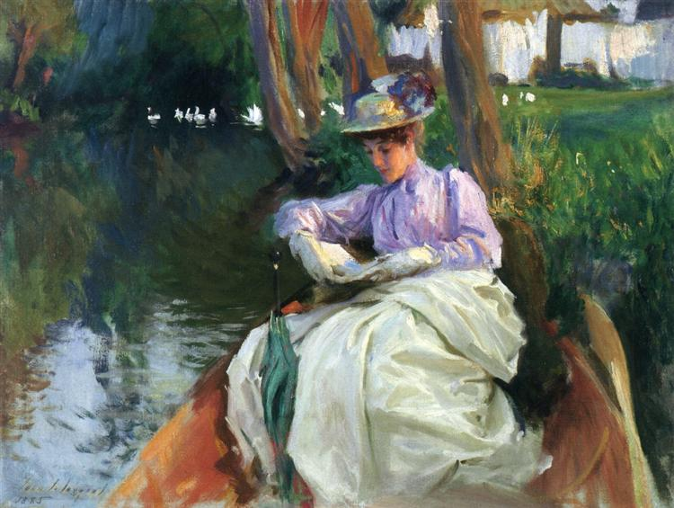 By the River, 1885 - John Singer Sargent