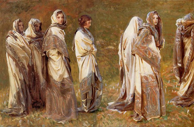 Cashmere, c.1908 - John Singer Sargent